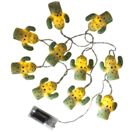 House of disaster STRING OF 10 CACTI LIGHTS