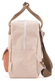 Sticky Lemon Backpack Enveloppe Small Peony Pink