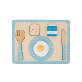Sass & Belle BLUE KITCHEN BREAKFAST PLAYSET