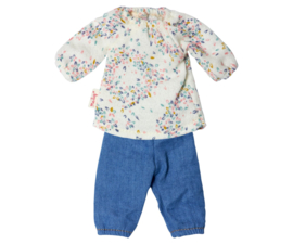 Maileg Ginger Sister blouse met spijkerbroek size 1