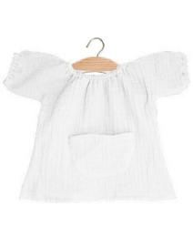 Minikane shirt jurkje wit met zakje