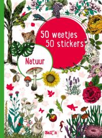 50 weetjes, 50 stickers: Natuur
