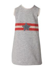 Maileg mega t-shirt grijs wit rood