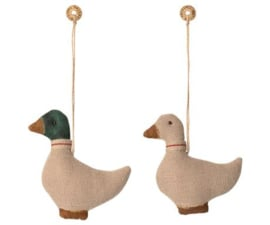 Maileg DUCK ORNAMENT BEIGE