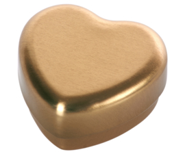 Maileg hartje goud