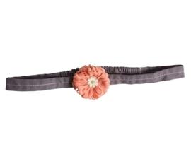 Maileg Haarband meloenroze bloem