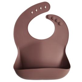 Mushie siliconen slab- woodchuck