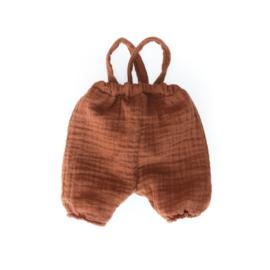 Nuki-Nuby poppen pofbroek bruin