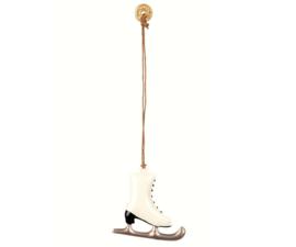Maileg Ornament schaats Metaal zilver