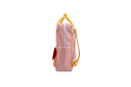 Sticky Lemon Backpack Wanderer Large Pink-Yello-Carrot