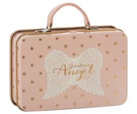 Maileg roze koffertje Guardian Angel gouden sterretjes