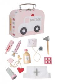 Dokterskoffertje (roze)