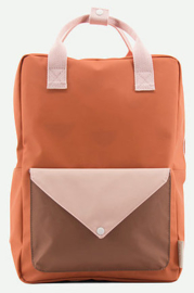 Sticky Lemon Backpack Enveloppe Large Tangerine