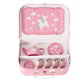 Sass & Belle RAINBOW UNICORN PICKNICK BOX THEESERVOIR