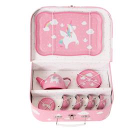 Sass & Belle RAINBOW UNICORN PICKNICK BOX THEESERVOIR