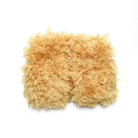 Nuki-Nuby muts voor gordi pop teddy hesje oker