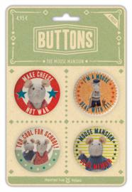 Het Muizenhuis - Buttons