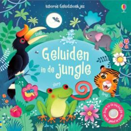 Usborne Geluidenboekjes - Geluiden in de jungle