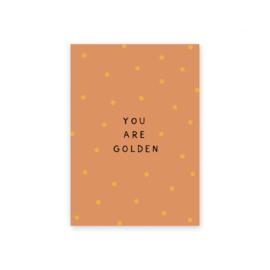 Leonie van der Laan kaart You are golden 2