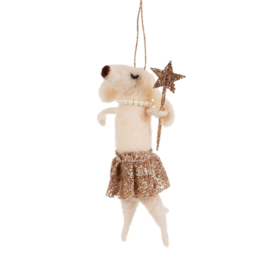 Sass & Belle Kerstdecoratie Magische hond in tutu
