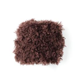 Nuki-Nuby muts voor gordi pop teddy hesje bruin