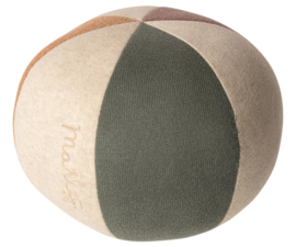 Maileg BALL - DUSTY GREEN/CORAL GLITTER