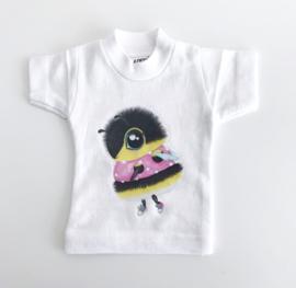 Illeke illustraties Poppen shirt Heidi