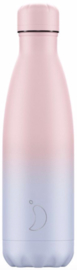 Chilly's Bottle 500ml Gradient Blush