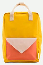 Sticky Lemon Backpack Enveloppe Large Soft Yellow