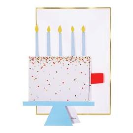Meri Meri Slice of cake card