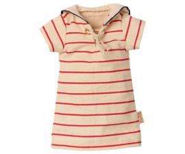 Maileg striped dress size 2