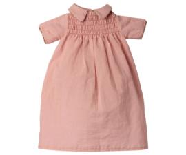 MAILEG DRESS - ROSE BUNNY SIZE 4,