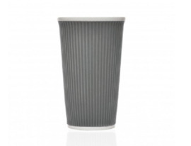 Les Artistes Coffee Cups 45cl Dark Grey