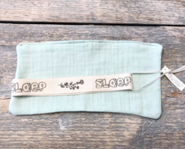 Play at Slaap Pacifier Cloths organic Mint