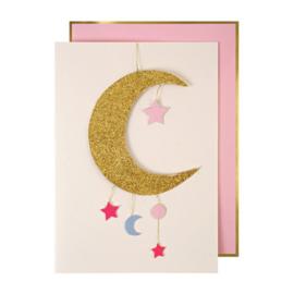 Meri Meri Baby girl mobile card