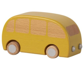 Maileg WOODEN BUS - YELLOW