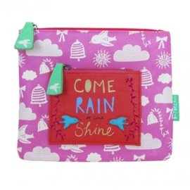 Disaster Designs Daydream Come Rain Or Shine make up tas
