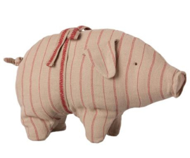 Maileg PIG W. STRIBES, SMALL