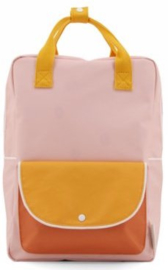 Sticky Lemon Backpack Wanderer Large Pink-Yello-Carrot
