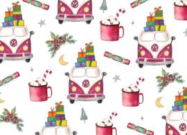 Fritsy kaart kerst busje chocomel