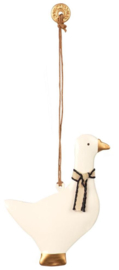 Maileg ORNAMENT GOOSE, METAL BLACK