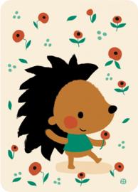 Bora Postkaart Hedgehog