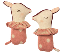 Maileg BAMBI RATTLE -ROSE