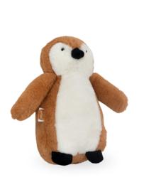 Jollein knuffel pinguïn caramel