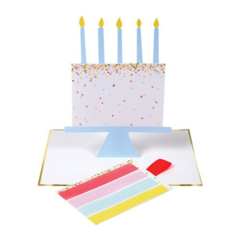 Meri Meri Slice of cake card