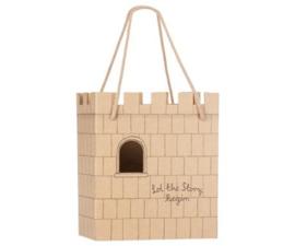 Actie artikel, Bij besteding v.a. 40 euro !! Paper bag, Castle. Zie voorwaarde !!