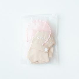 Nuki-Nuby poppen ballet setje roze