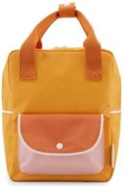 Sticky Lemon Backpack Wanderer Small Yellow-Orange-Pink
