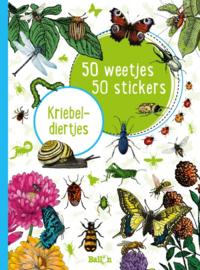 50 weetjes, 50 stickers: Kriebeldiertjes