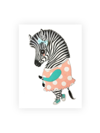 Illeke illustraties Ella de zebra